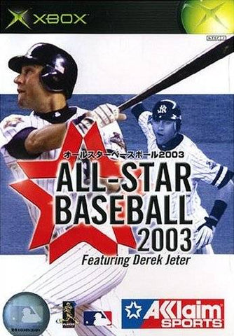 All-Star Baseball 2003 - Xbox (Japan)