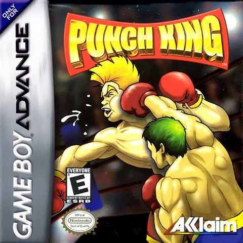 Punch King - Game Boy Advance [USED]