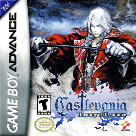 Castlevania: Harmony of Dissonance - Game Boy Advance [USED]