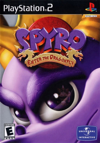 Spyro: Enter the Dragonfly - PlayStation 2
