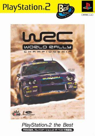 WRC: World Rally Championship (PlayStation2 the Best) - PlayStation 2 (Japan)