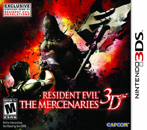 Resident Evil: The Mercenaries 3D - Nintendo 3DS [NEW]