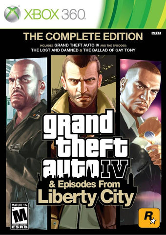 Grand Theft Auto IV: The Complete Edition - Xbox 360 (Action & Adv, 2010, US)