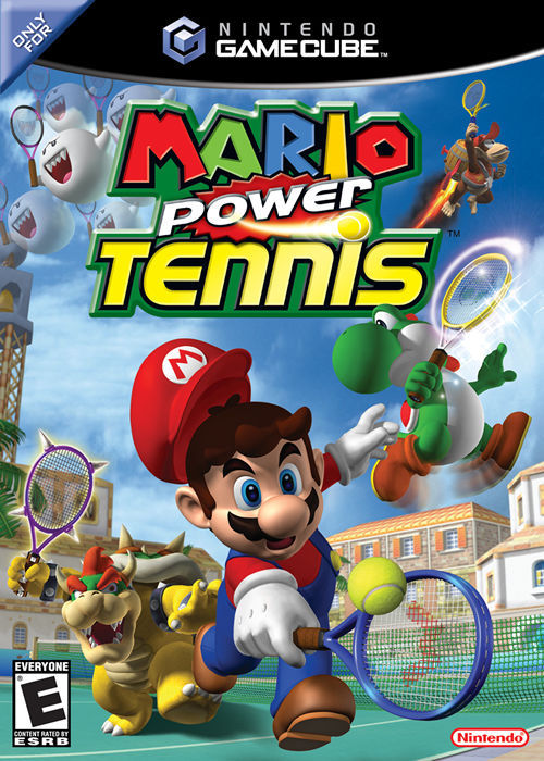 Mario Power Tennis - GameCube [USED]