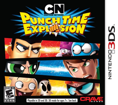 Cartoon Network: Punch Time Explosion - Nintendo 3DS [USED]