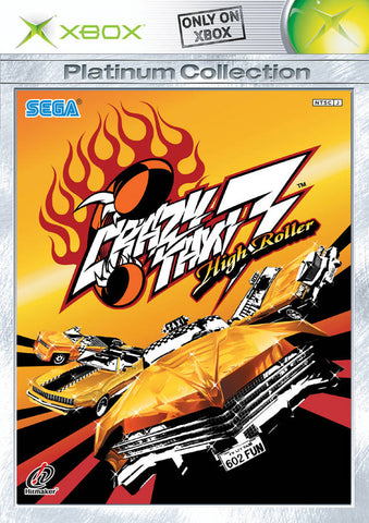 Crazy Taxi 3: High Roller (Platinum Collection) - Xbox (Japan)