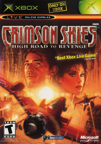 Crimson Skies: High Road to Revenge - Xbox