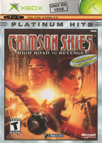 Crimson Skies: High Road to Revenge (Platinum Hits) - Xbox