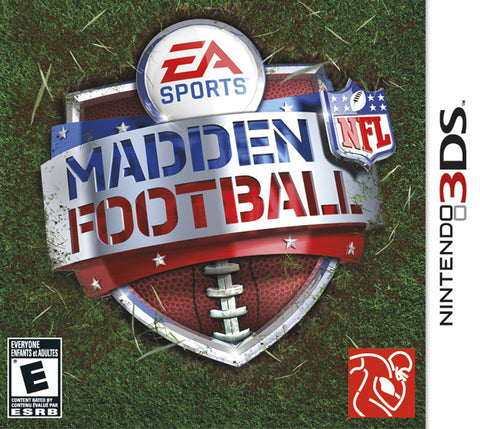 Madden NFL Football - Nintendo 3DS [NEW]