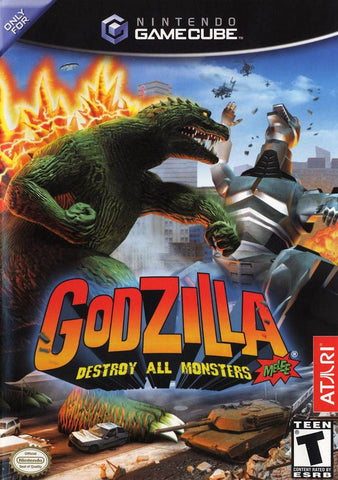 Godzilla: Destroy All Monsters Melee - GameCube [USED]