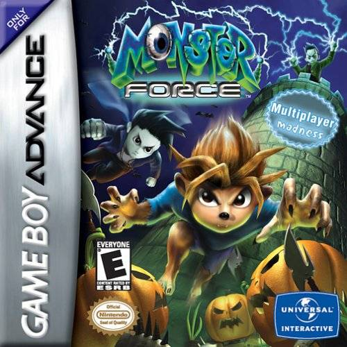 Monster Force - Game Boy Advance (TPS, 2002, US )