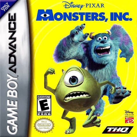 Disney/Pixar Monsters, Inc. - Game Boy Advance [USED]