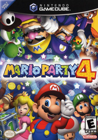 Mario Party 4 - GameCube [USED]