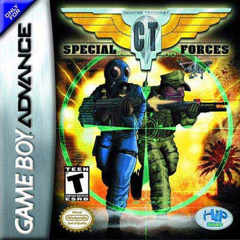 CT Special Forces - Game Boy Advance (ACT, 2002, US )