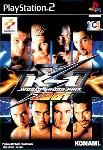 K-1 World Grand Prix 2001 - PlayStation 2 (Japan)
