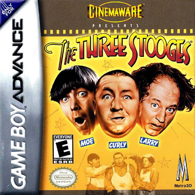The Three Stooges - Game Boy Advance (Action, 2002, US )