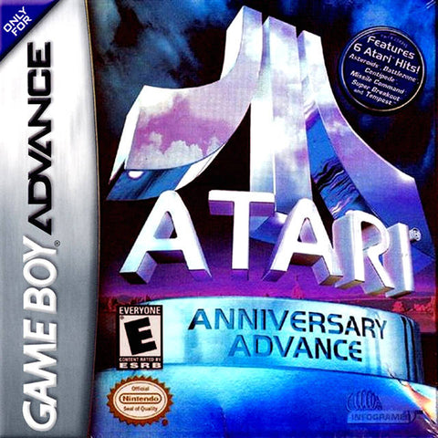 Atari Anniversary Advance - Game Boy Advance (TAB, 2002, US )