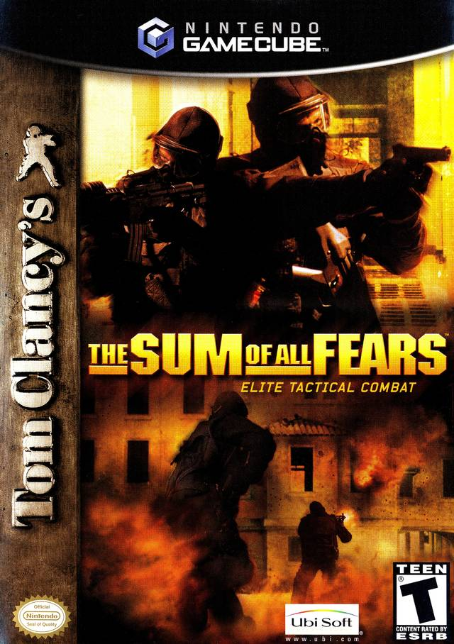 The Sum of All Fears - GameCube [USED]