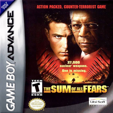 The Sum of All Fears - Game Boy Advance [USED]