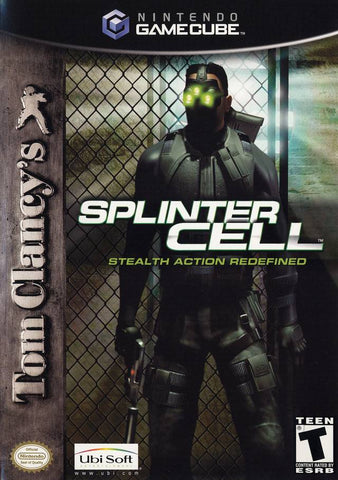 Tom Clancy's Splinter Cell - GameCube [USED]