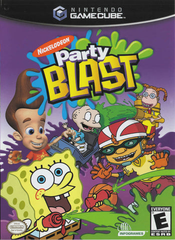 Nickelodeon Party Blast - GameCube [USED]