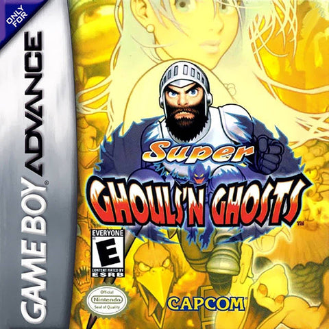 Super Ghouls 'n Ghosts - Game Boy Advance [USED]