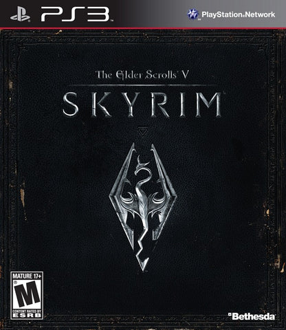 Elder Scrolls V: Skyrim - Playstation 3 Box Cover