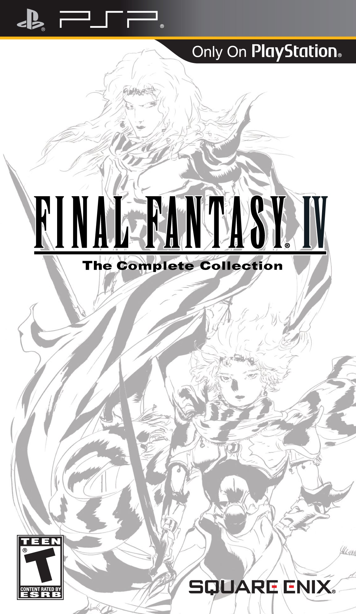 Final Fantasy IV: The Complete Collection - PSP