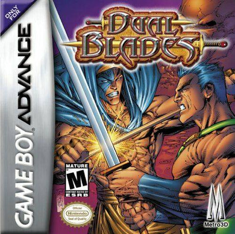 Dual Blades - Game Boy Advance (Fighting, 2002, US )
