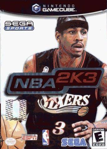 NBA 2K3 - GameCube [USED]