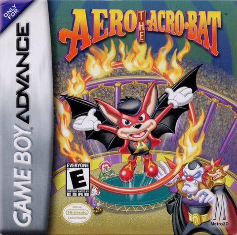 Aero the Acro-bat - Game Boy Advance [USED]