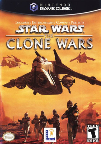 Star Wars: The Clone Wars - GameCube [USED]