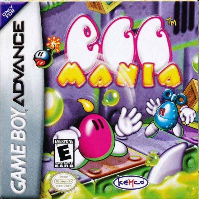 Egg Mania - Game Boy Advance (Puzzle, 2002, US )