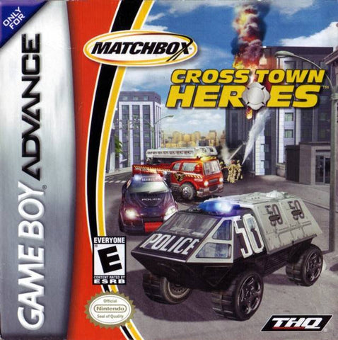 Matchbox Cross Town Heroes - Game Boy Advance [USED]