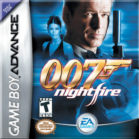007: NightFire - Game Boy Advance (FPS, 2003, US )