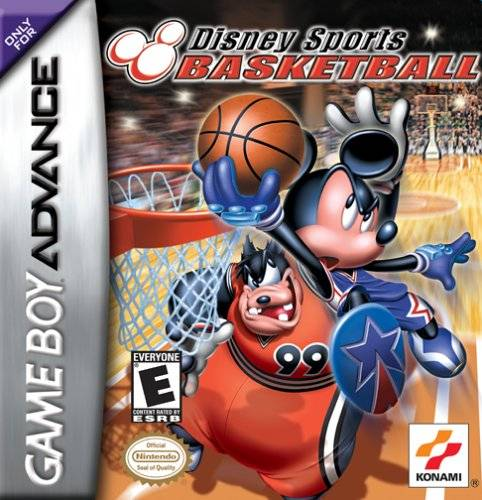 Disney Sports: Basketball - Game Boy Advance (Sports, 2002, US )