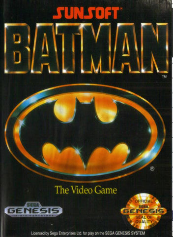 Batman: The Video Game - SEGA Genesis [USED]