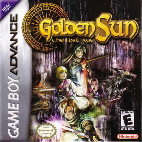 Golden Sun: The Lost Age - Game Boy Advance [USED]