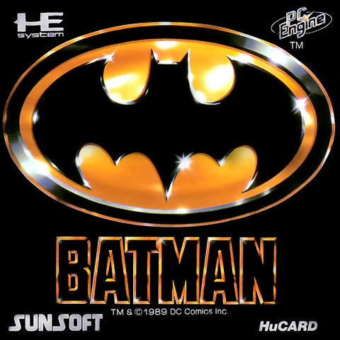 Batman - TurboGrafx-16 (Japan)