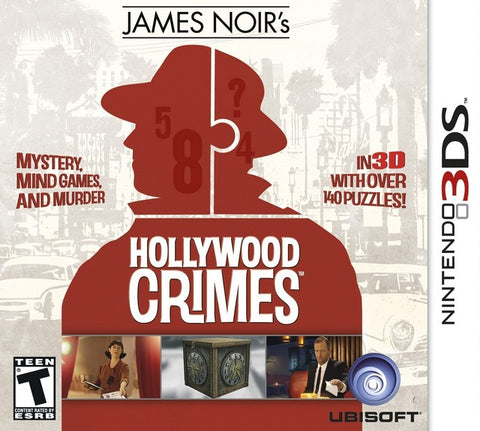 James Noir's Hollywood Crimes - Nintendo 3DS [USED]