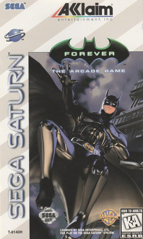 Batman Forever: The Arcade Game - SEGA Saturn [USED]
