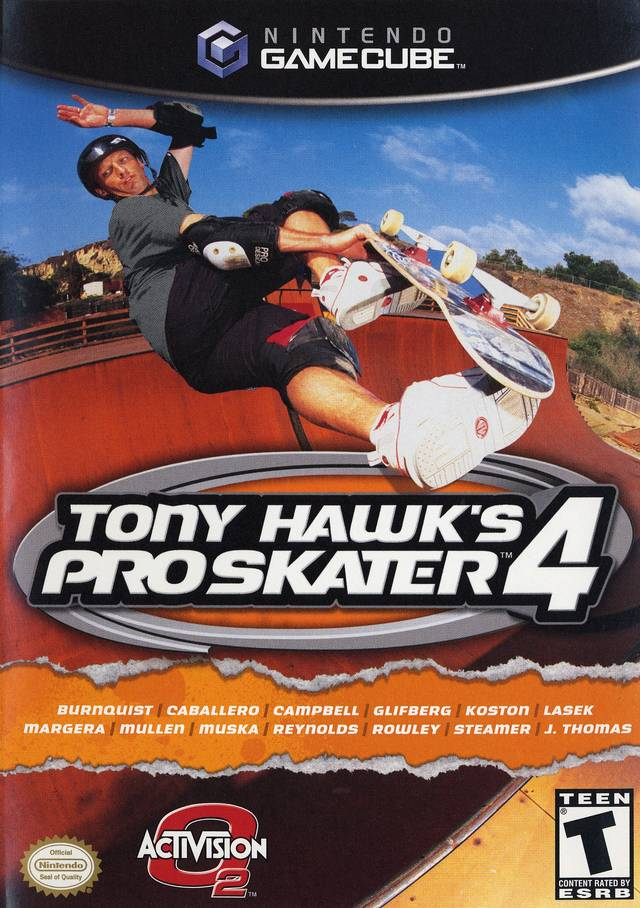 Tony Hawk's Pro Skater 4 - GameCube [NEW]