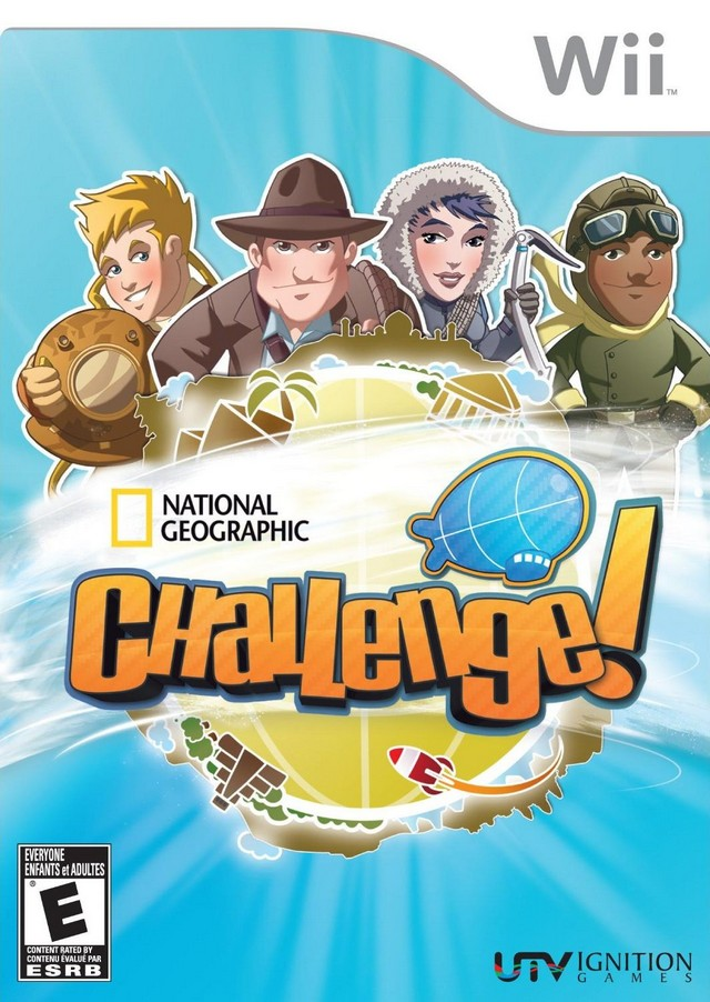 National Geographic Challenge! - Nintendo Wii [NEW]