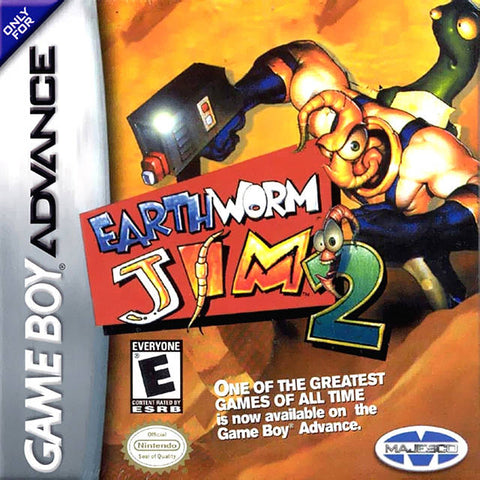 Earthworm Jim 2 - Game Boy Advance [USED]
