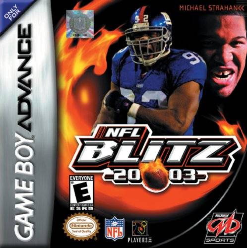 NFL Blitz 20-03 - Game Boy Advance (Sports, 2002, US )