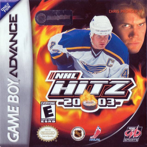 NHL Hitz 20-03 - Game Boy Advance [USED]
