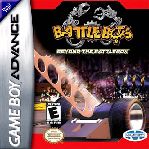 BattleBots: Beyond the BattleBox - Game Boy Advance [USED]
