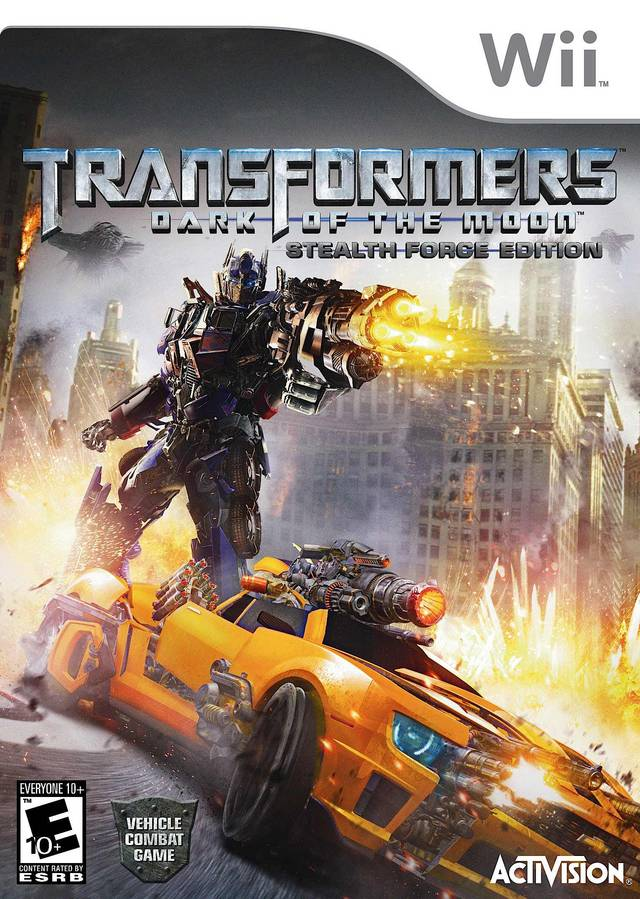 Transformers: Dark of the Moon - Stealth Force Edition - Nintendo Wii [USED]