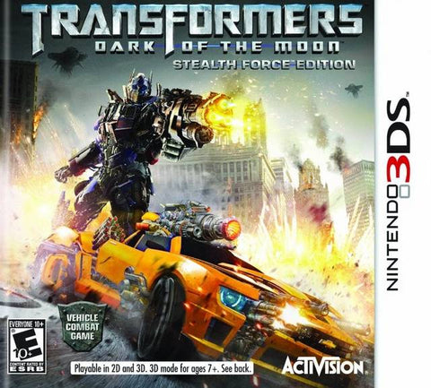 Transformers: Dark of the Moon - Stealth Force Edition - Nintendo 3DS [USED]