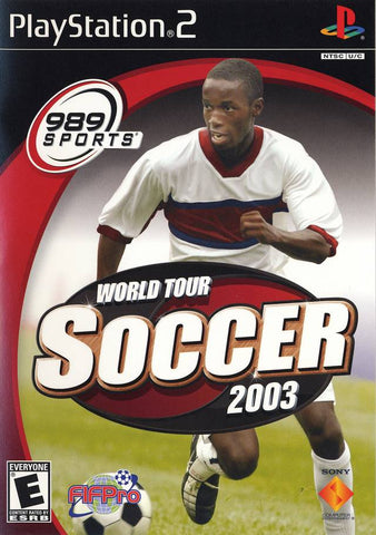 World Tour Soccer 2003 - PlayStation 2